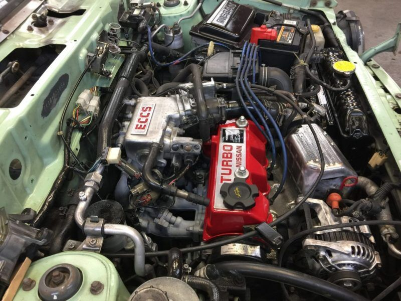 Nissan Figaro - Engine Cleaned