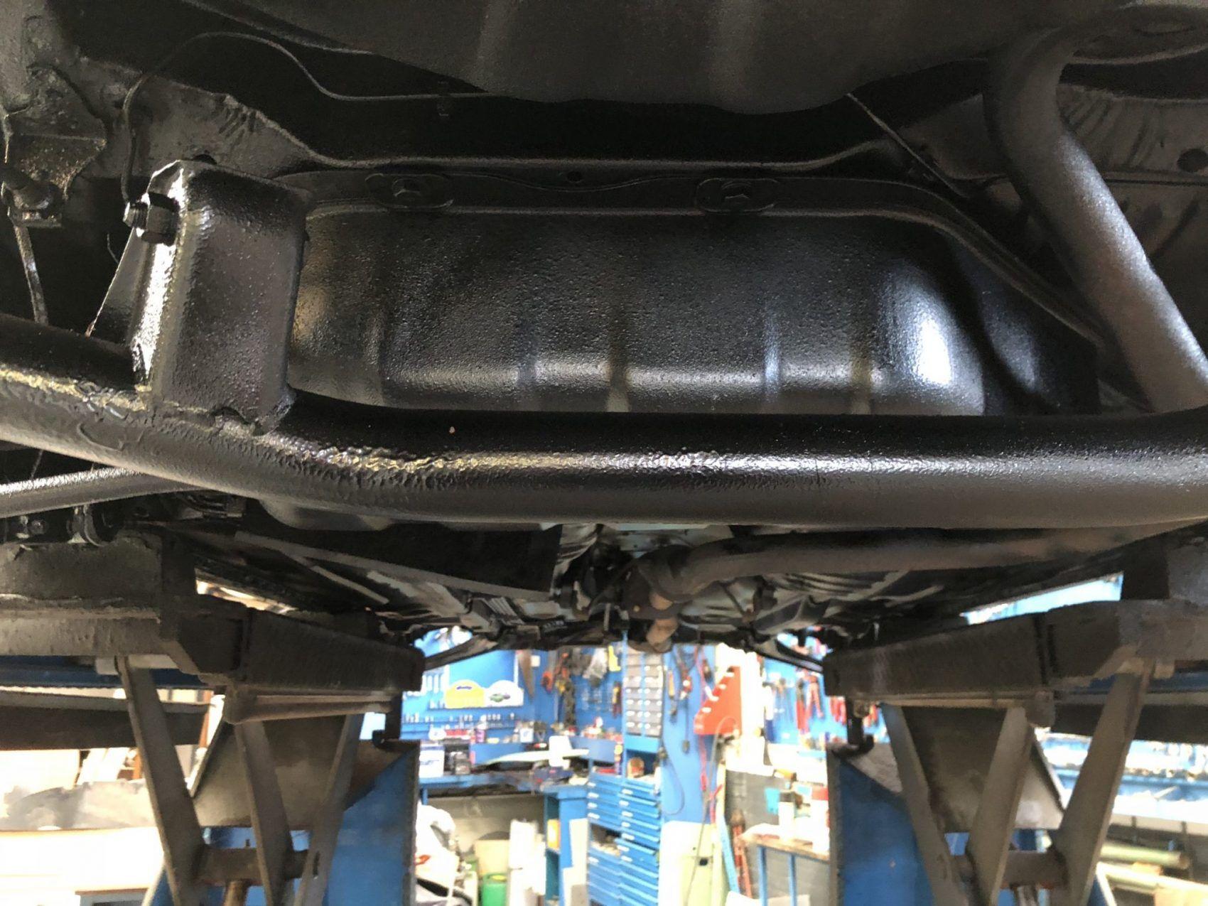 Nissan Figaro - Underbody coating