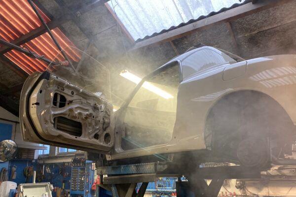 Nissan Figaro - Wax - smoke